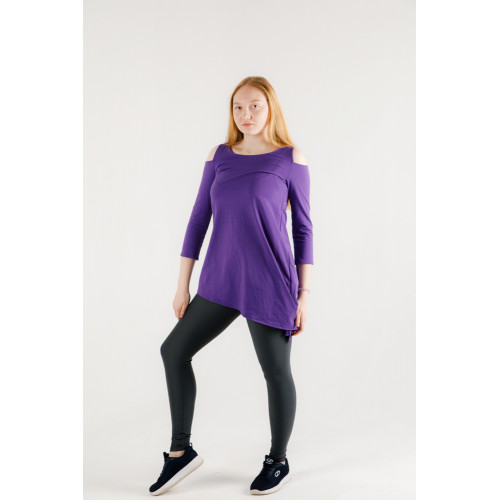 Туника спортивная фиолетовая