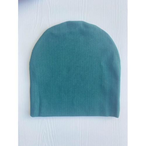 Зеленая шапочка из кашкорсе